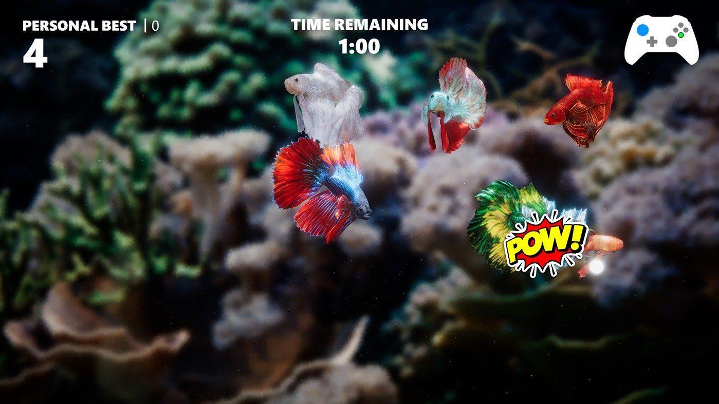 Convierte tu TV en un vistoso acuario con esta app para Xbox - Siamese Fighting Fish es un juego que te permite crear un acuario personalizado en tu Xbox One o Xbox Series.