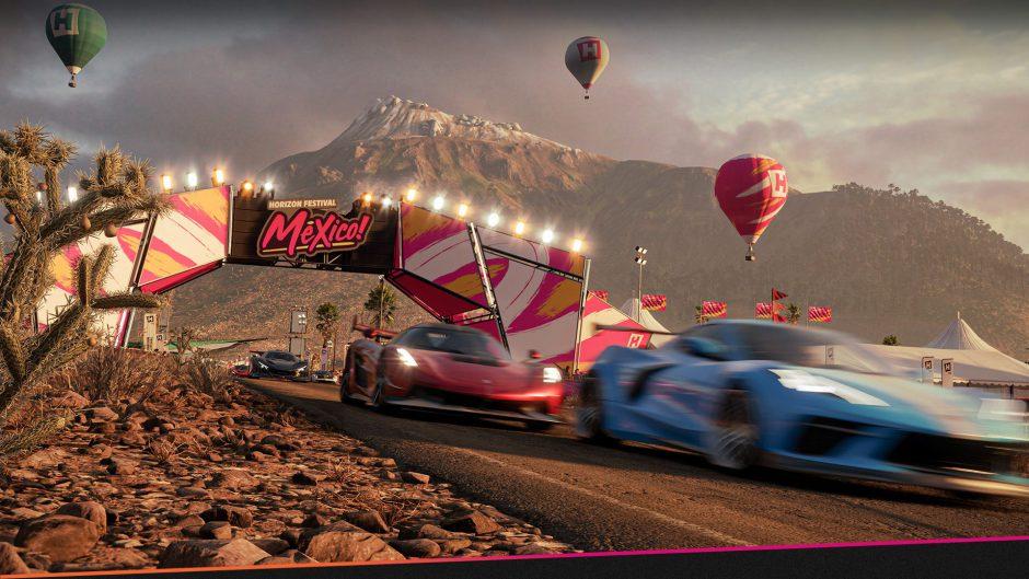Disfruta de más de 20 minutos de Forza Horizon 5 con el Toyota Supra 2020 de protagonista
