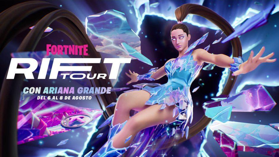 Guía para ver los conciertos de Ariana Grande en Fortnite
