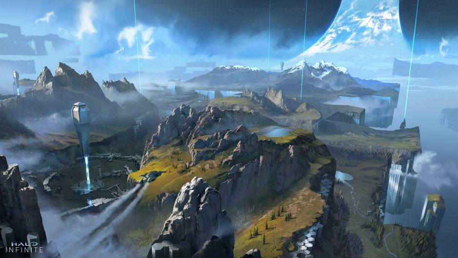 Se filtra un nuevo mapa inédito de Halo Infinite