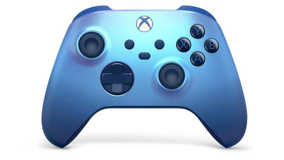 Aqua Shift será un nuevo mando oficial de Xbox Series
