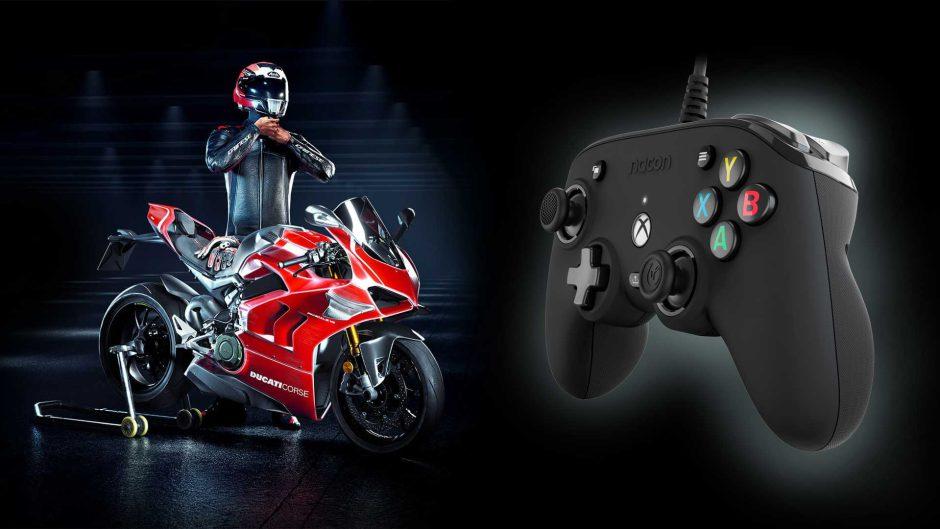 Sorteamos el juego RiMS Racing + el mando Nacon Xbox Pro Compact