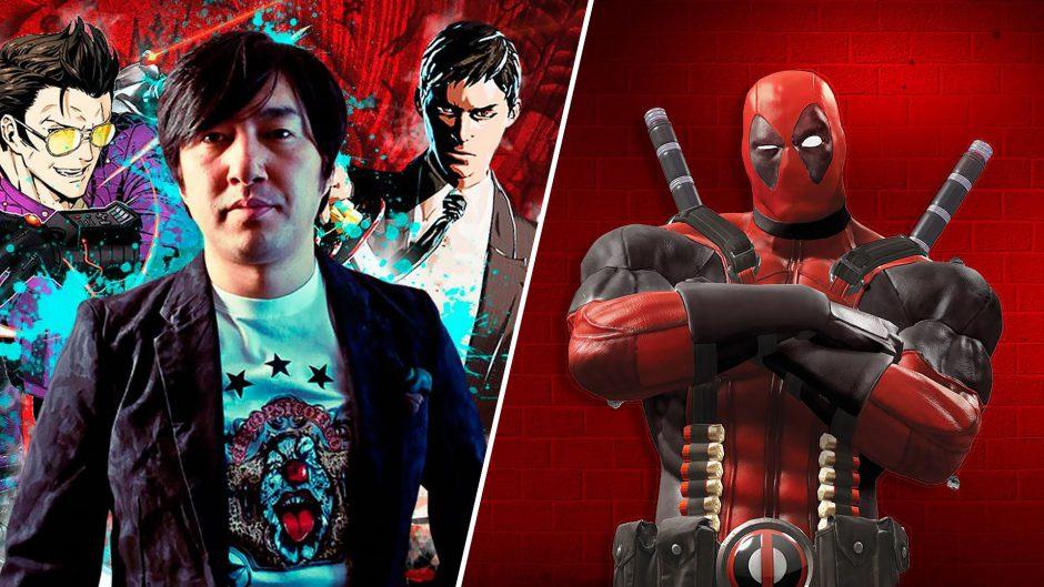 Suda51 ya trabaja en tres nuevas IP y le gustaría hacer un juego de Deadpool