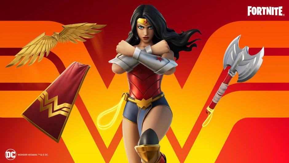 Con lazo y todo llega Wonder Woman a Fortnite