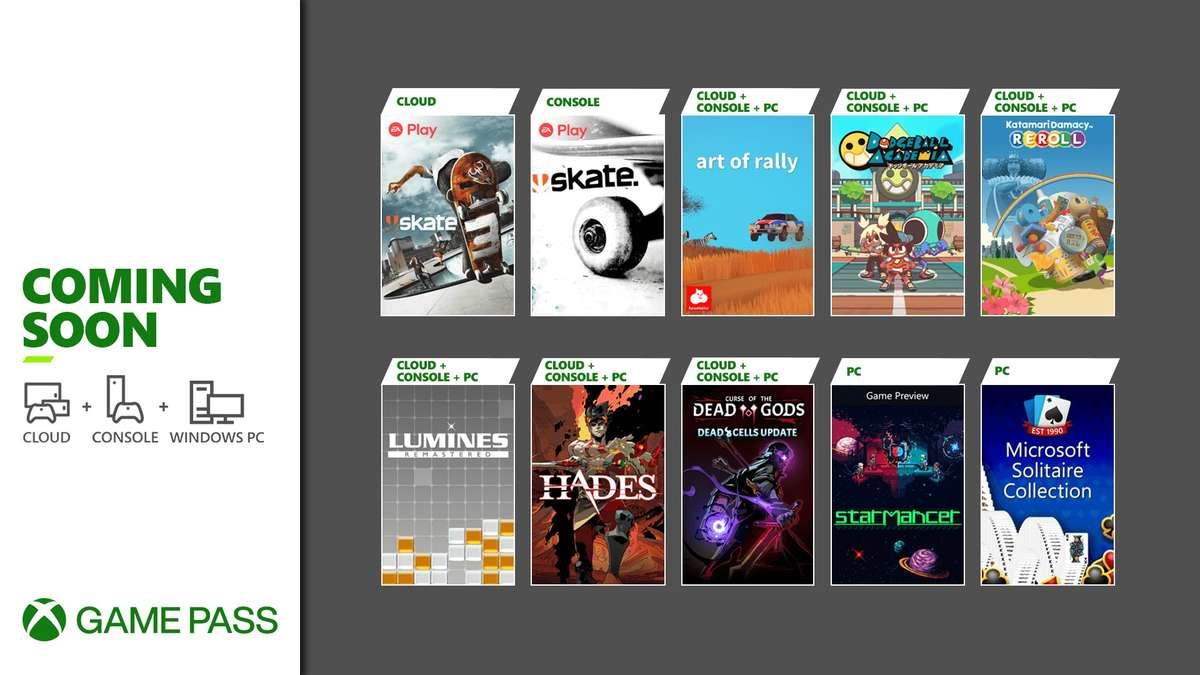 Desvelados los nuevos juegos que llegarán a Xbox Game Pass en agosto - Ya sabemos las nuevas incorporaciones para Xbox Game Pass de este mes de agosto. Se han hecho de rogar, pero desde el jueves llegan las primeras.