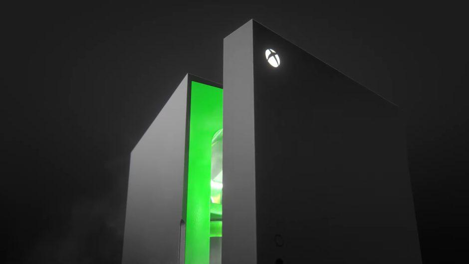 La mini-nevera de Xbox Series X confirma su lanzamiento para estas navidades