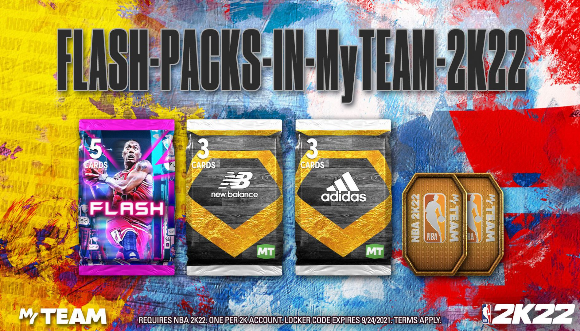 NBA 2K22 - Código de Vestuario