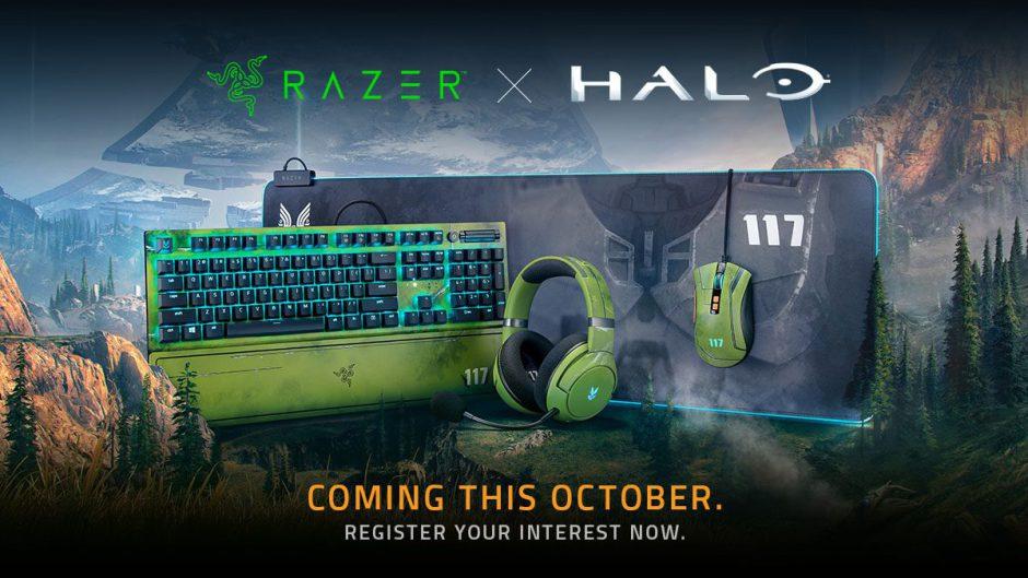 Nuevos y exclusivos periféricos de Razer inspirados en Halo infinite