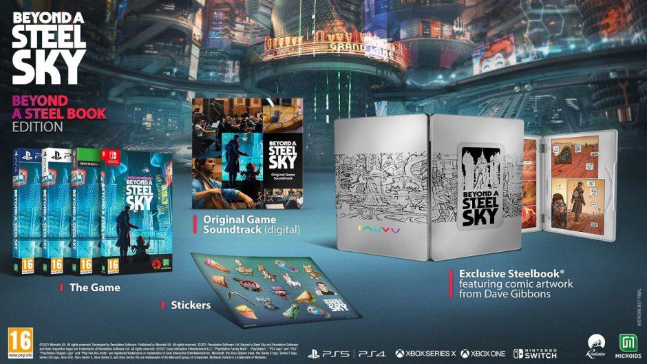 Beyond a Steel Sky llegará en formato físico a Xbox en noviembre