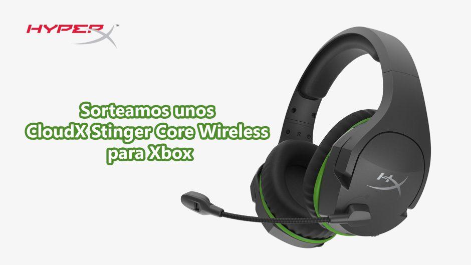 Sorteamos unos CloudX Stinger Core Wireless para Xbox