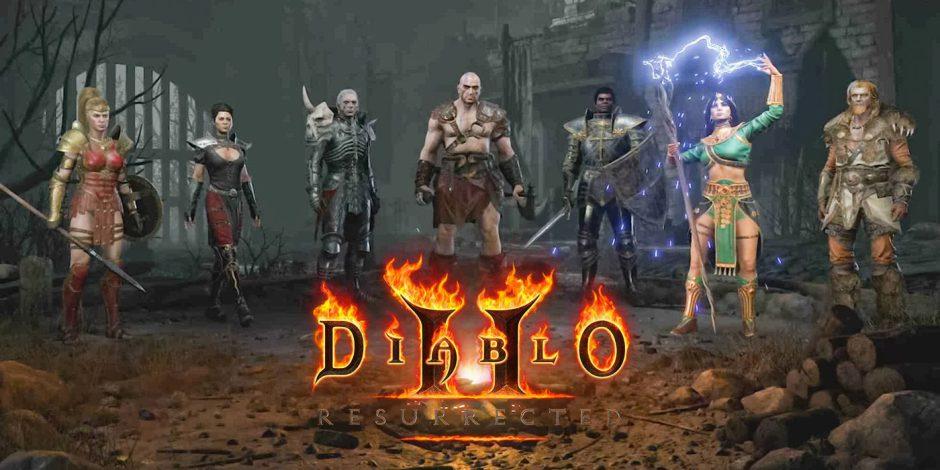 Blizzard explica por qué Diablo 2 Resurrected no puede soportar la pantalla ultra ancha