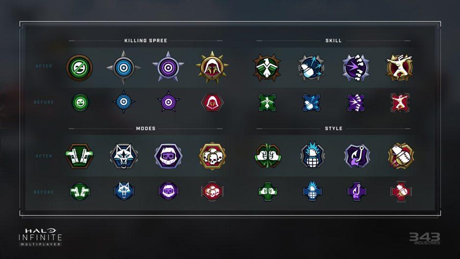 343 Industries promete mejorar el sistema de medallas de cara al lanzamiento de Halo Infinite