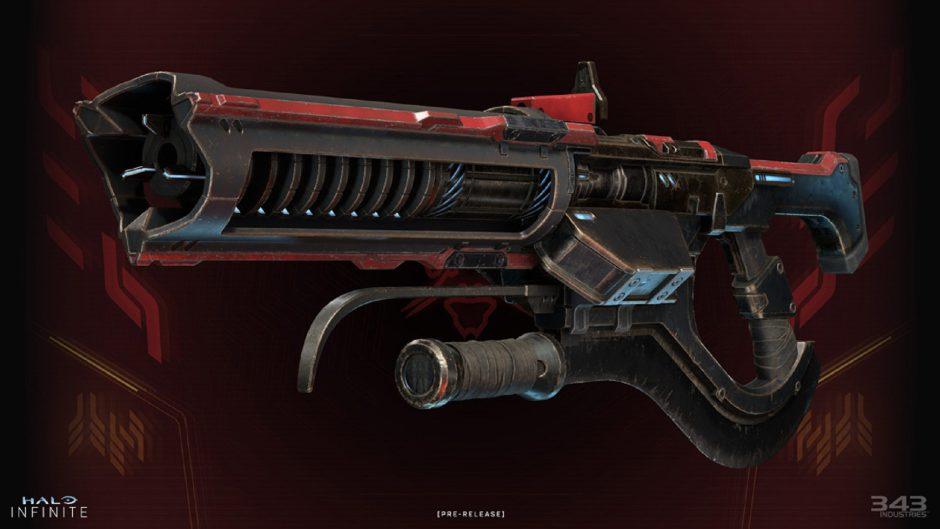 El nuevo rifle de choque desterrado también llegará a la prueba de Halo Infinite