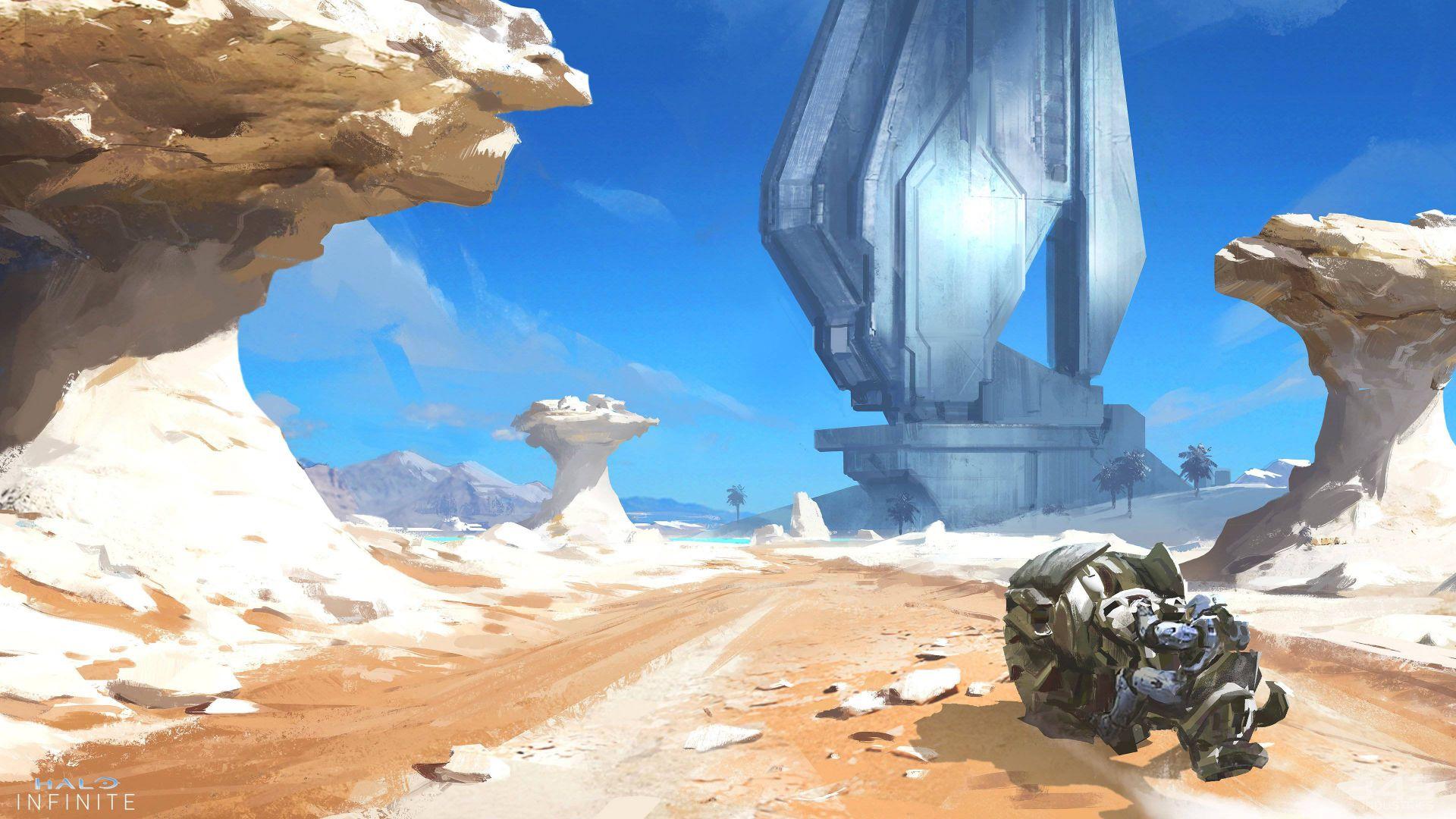 343 Industries comparte un montón de nuevo arte conceptual de Halo Infinite - 343 Industries ha compartido en la web oficial un montón de imágenes con nuevo y genial concept art de Halo Infinite.