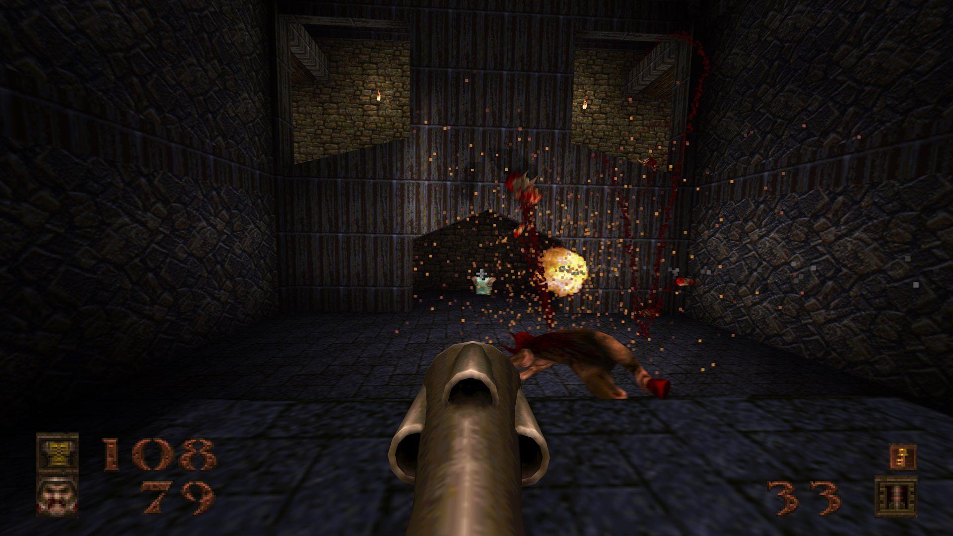 Análisis de Quake Remastered - Si DOOM es el rey, Quake es el príncipe de los shooters y ha vuelto de entre los muertos con una gran remasterización.
