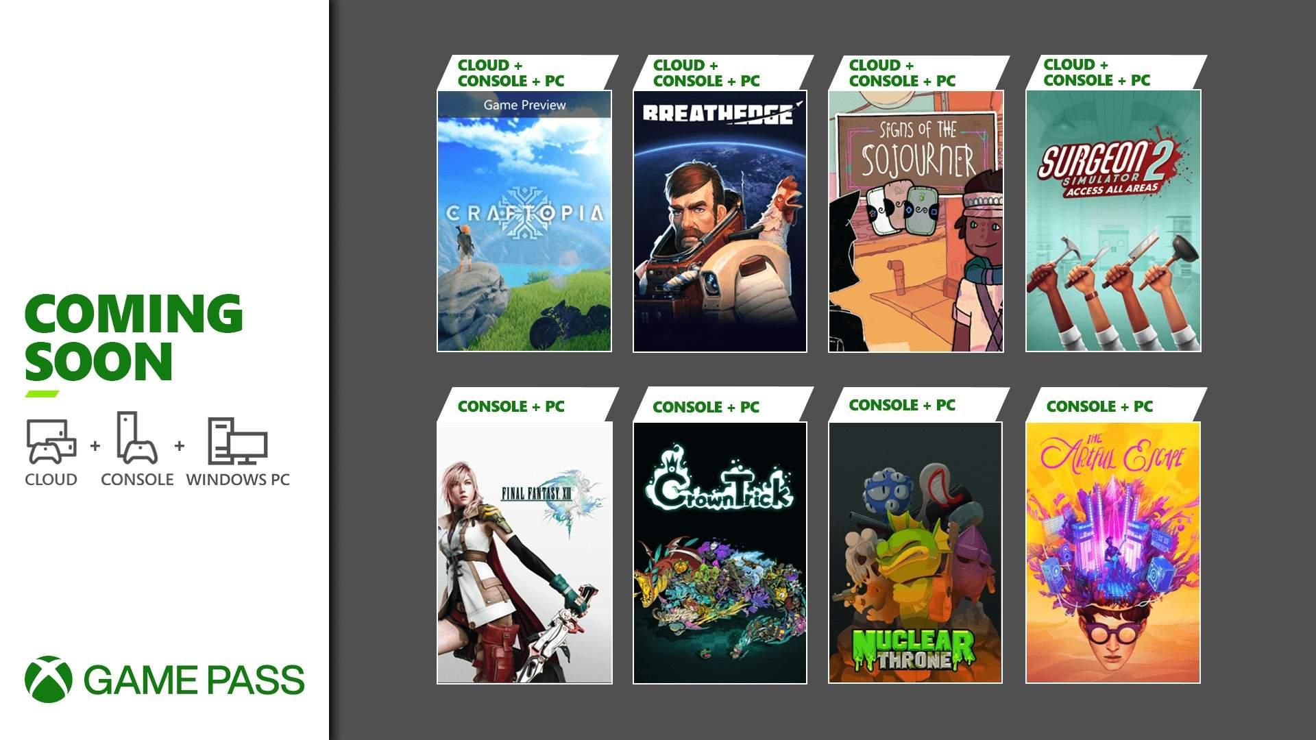 Desvelados los nuevos títulos que llegan a Xbox Game Pass en septiembre - Los nuevos títulos para Xbox Game Pass del mes de septiembre ya se han anunciado. Descubre cual será tu próximo juego.