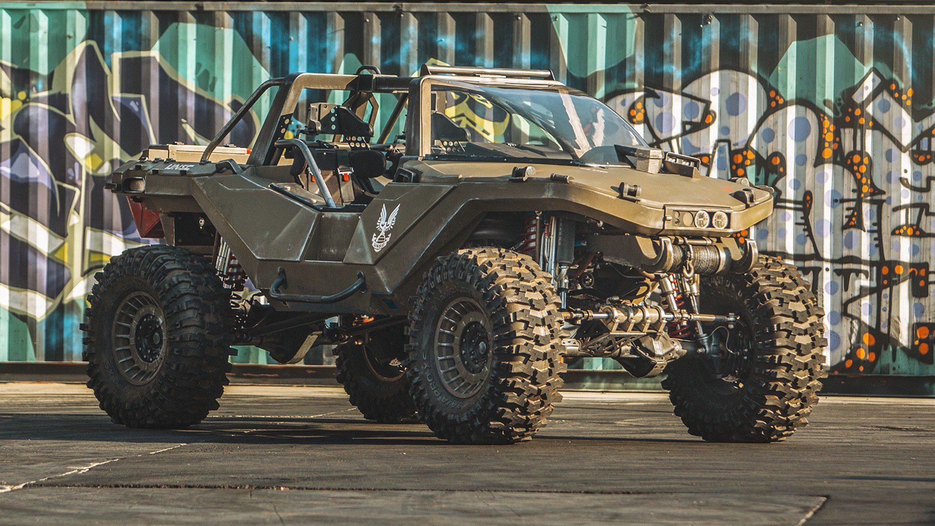 El equipo de Ken Block construye un Warthog totalmente funcional y este es el resultado - El Warthog, que ya apareció en la presentación de la película Free Guy, tiene un motor de más de 1000 caballos y un aspecto clavado al del videojuego.