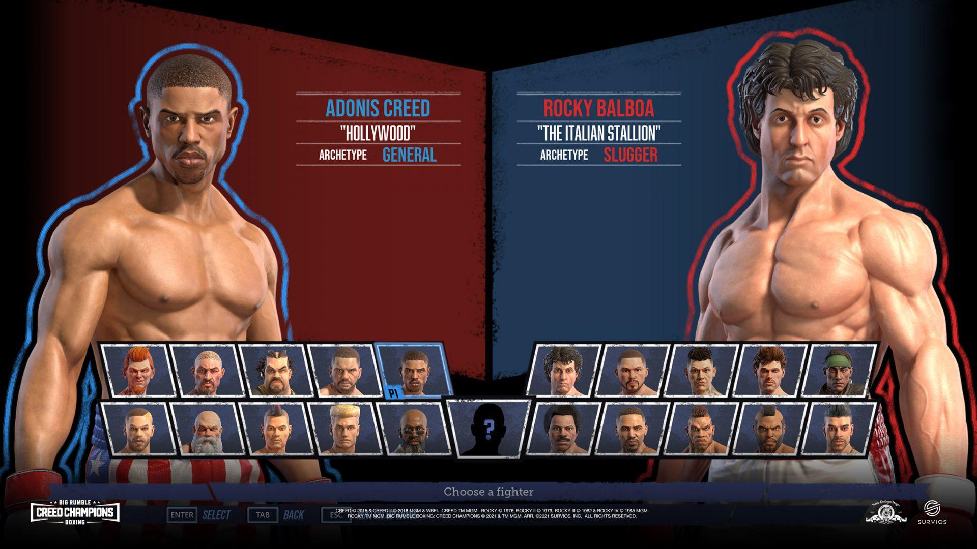 big rumble boxing creed champions 8 - generacion xbox