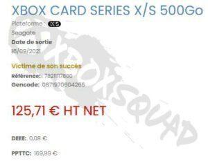 Se filtra una versión de 500Gb de la tarjeta de expansión de Xbox Series - Parece que la tarjeta de expansión oficial de Seagate para Xbox Series X|S recibirá una revisión de 500Gb, mucho más económica.