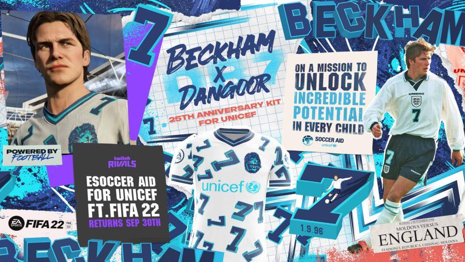 David Beckham diseñó un kit para FIFA 22