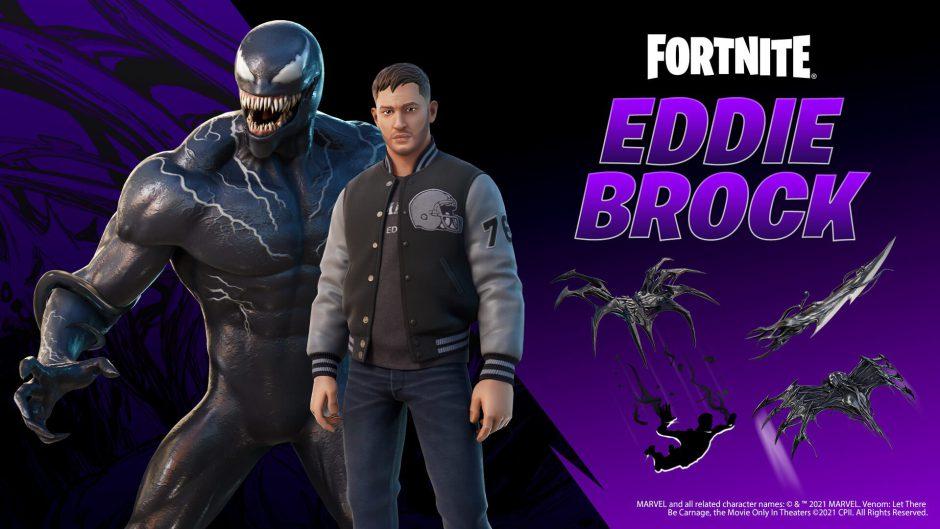 Fortnite ahora tendrá también a Eddie Brock