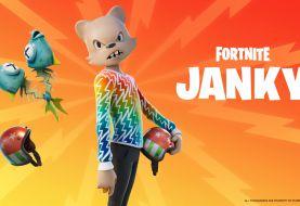 Fortnite incluye la skin de Janky, el amigo de Guggimon a Battle Royale