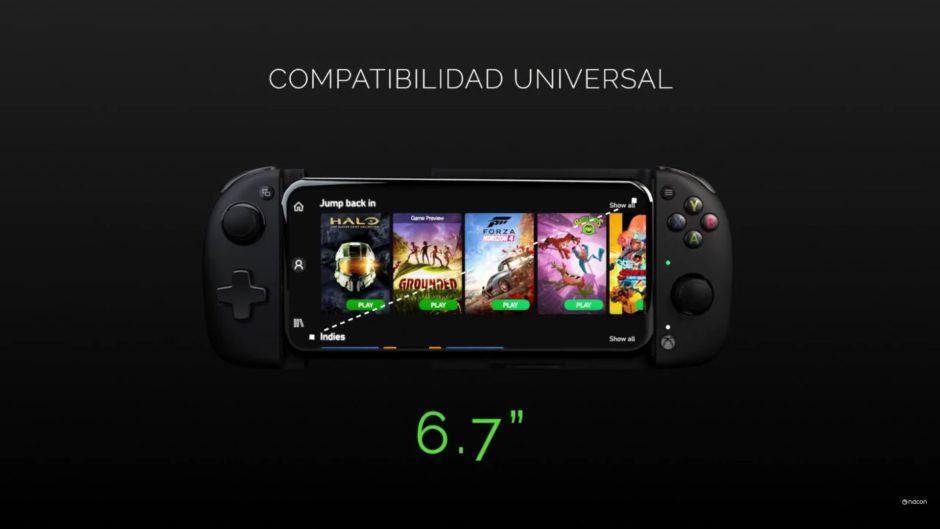 Nacon presenta el MG-X: Mando oficial de Xbox diseñado para el juego móvil en Android