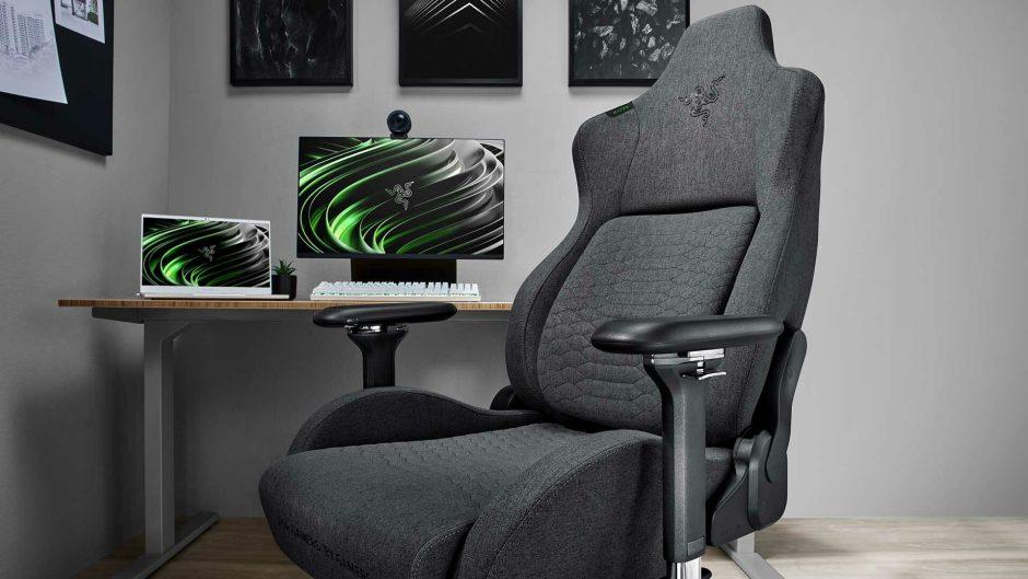 Razer presenta la nueva línea de sillas ISKUR de tela