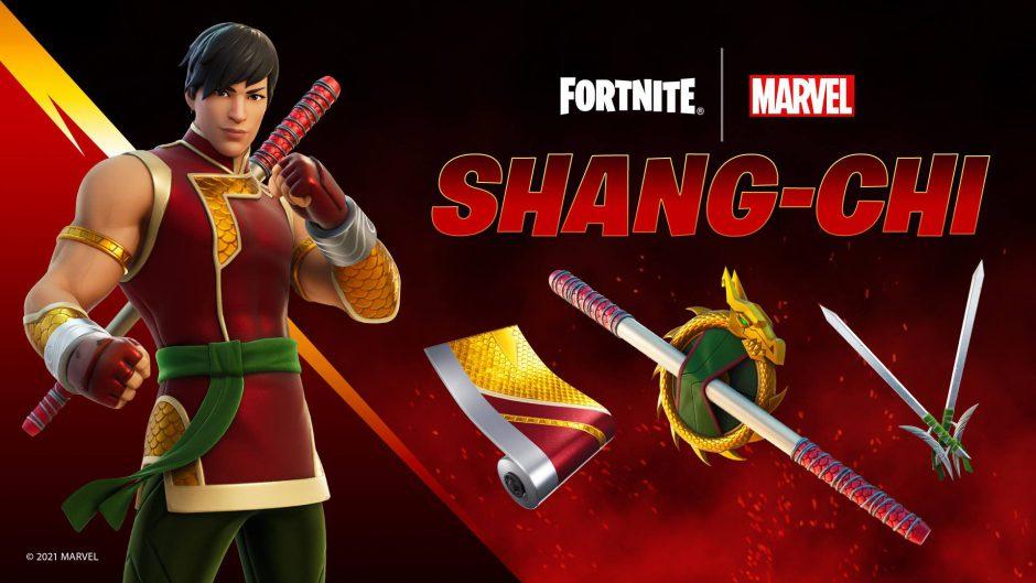 Shang-Chi llega a Fortnite para la premiere de la película