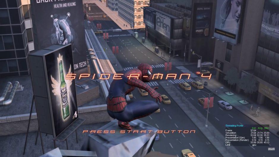 Así era Spider-Man 4, el proyecto cancelado para Xbox 360