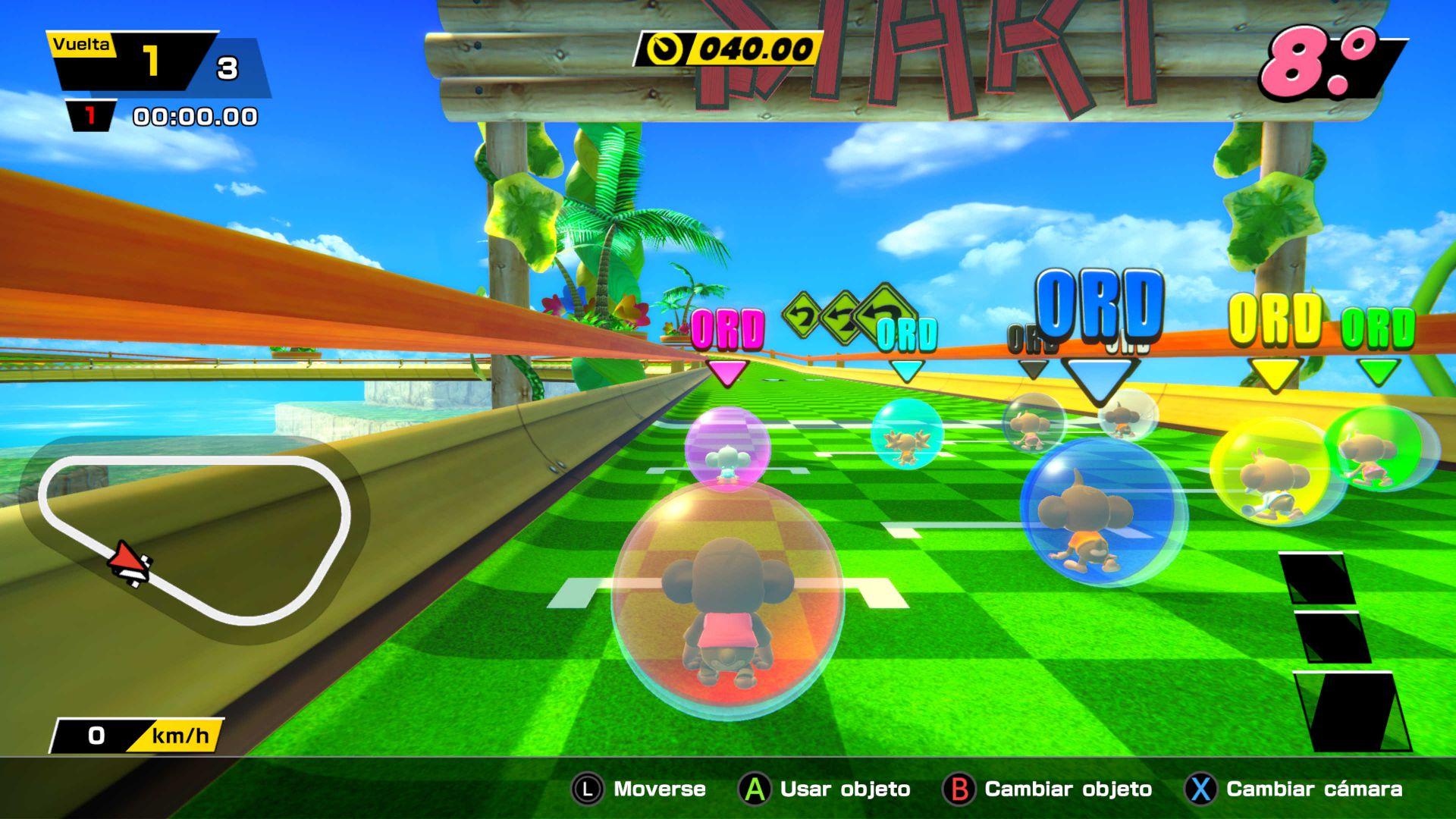 super monkey ball banana mania 4 - generacion xbox
