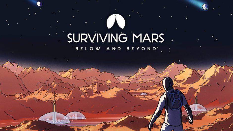 Ya disponible Surviving Mars: Below and Beyond