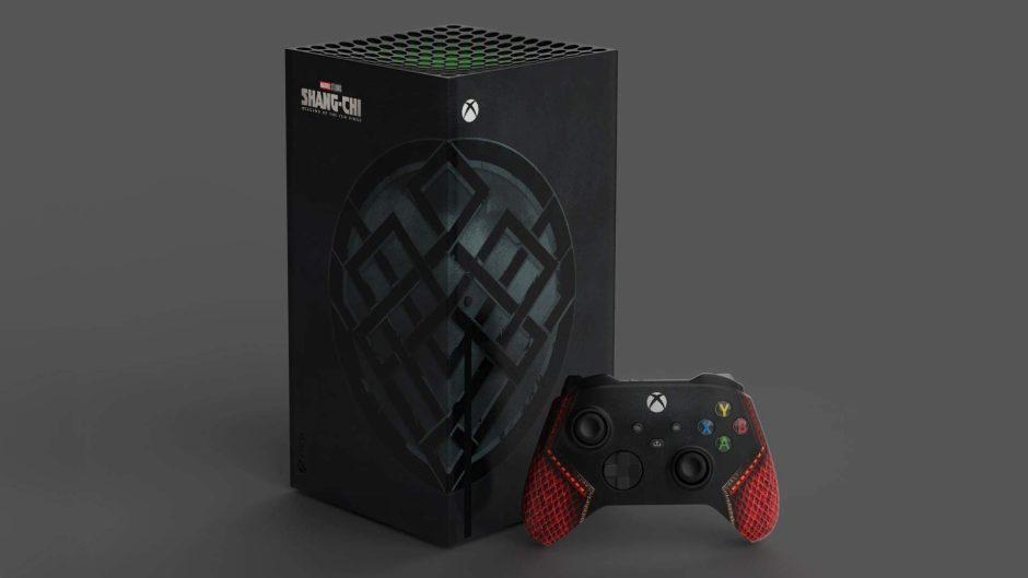 Simu Liu, protagonista de Shang-Chi y la Leyenda de los Diez Anillos, recibe su propia Xbox Series X personalizada