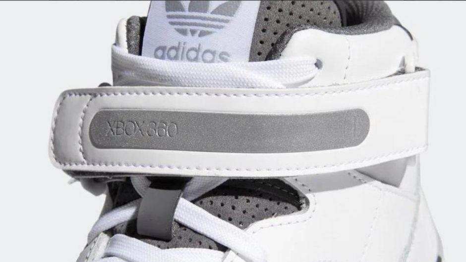 Adidas revela las zapatillas Xbox 360 Forum Mid