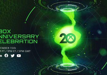 Xbox celebrará su 20 aniversario con un evento especial el 15 de noviembre