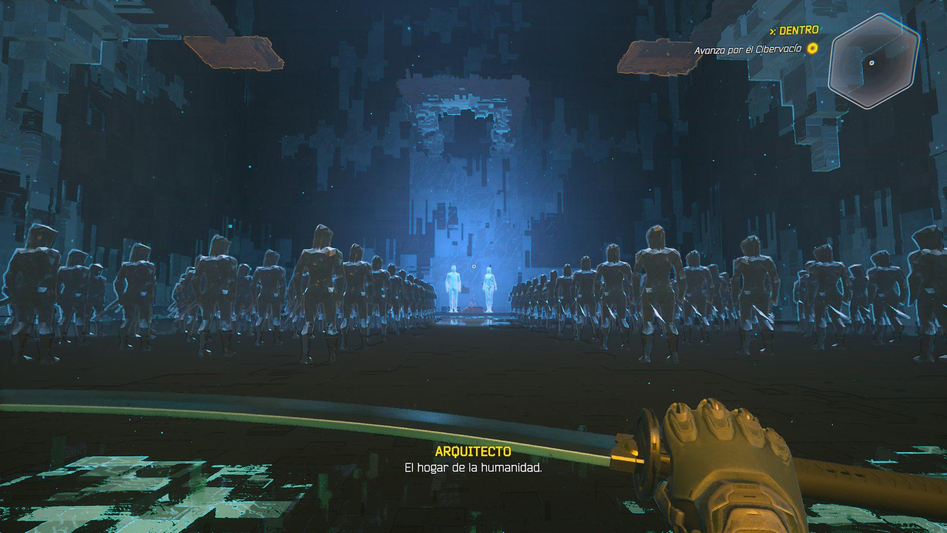 Análisis de Ghostrunner en Xbox Series X - Los Ninjas en el futuro tampoco no parecen acechar en las sombras, si no ser tan rápidos como el corte de una Katana. Ghostrunner es pura adrenalina.