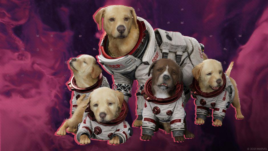 Cosmo, el perro espacial, protagoniza el nuevo tráiler de Marvel's Guardians of the Galaxy