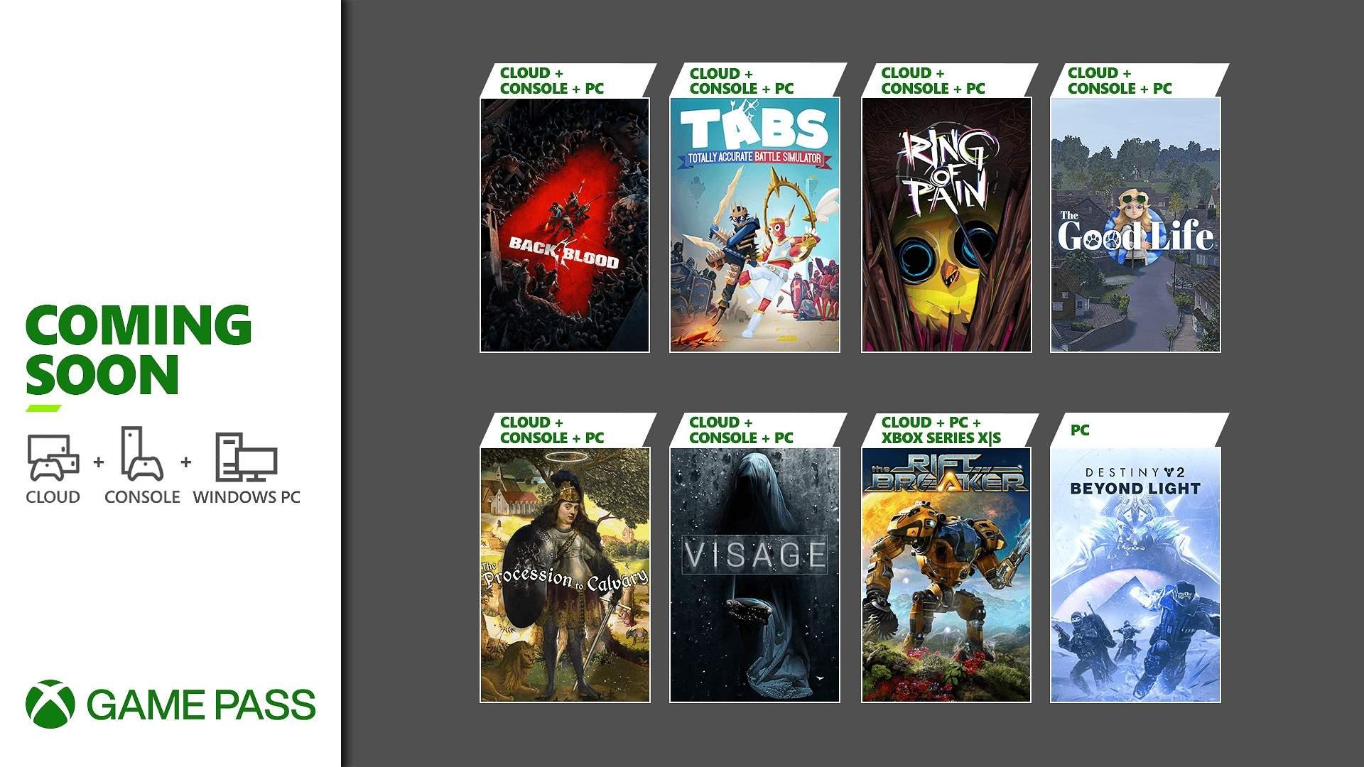 Desvelados los nuevos títulos que llegaran a Xbox Game Pass en la primera mitad de octubre - Ya conocemos los próximos títulos que llegarán a Xbox Game Pass en la primera mitad del mes de octubre para nuestras consolas Xbox, PC y Cloud.