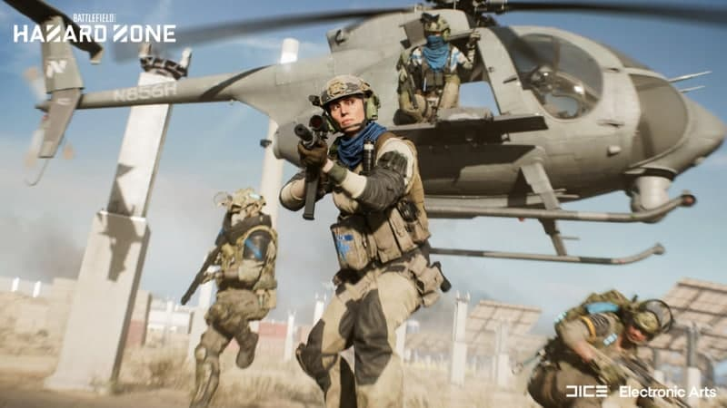 Battlefield 2042 desvela su prometedor nuevo modo: Así es 'Hazard Zone' - Sin llegar a ser un Battle Royale, Battlefield 2042 muestra su aproximación al género con el nuevo modo 'Hazard Zone'.