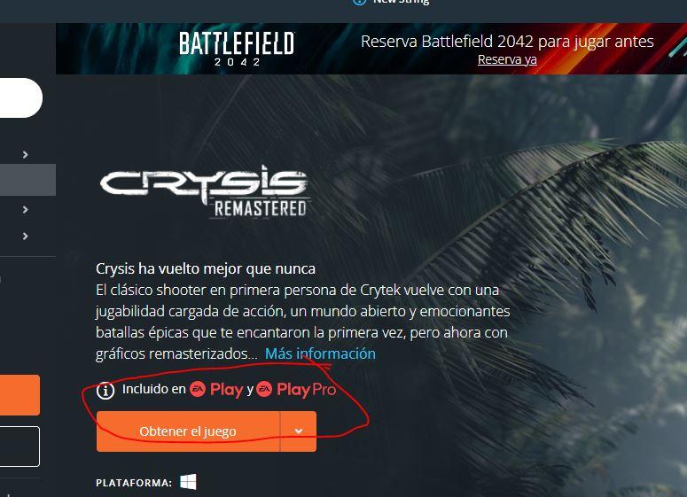 [Actualizada] Crysis Remastered aterriza en Xbox Game Pass de PC - El momento de disfrutar de Crysis Remastered en PC ya ha llegado. Dirígete a la biblioteca del EA Play e instala uno de los mejores FPS de la historia.