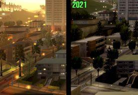 Comparativa en vídeo de GTA San Andreas vs Definitive Edition